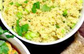 Ningún alboroto cuscús | Simple | Cocinando con Benji