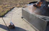 Destilar un mínimo suministro de agua usando