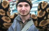 Cómo hacer un gorro, Poncho y manoplas de un suéter viejo