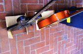 Soporte universal de guitarras plegable