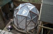 3m Geodesic Dome Greenhouse