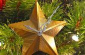 Steampunk - ornamento de la estrella