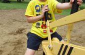 Excavadoras de arena: Hechos con palets reciclados