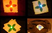 Broche de LED RGB