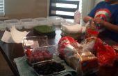 Preparación de comida semanal