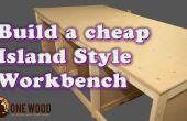 Cómo construir un banco de trabajo barato para trabajar la madera con una plantilla Kreg HD, VIDEO tutorial