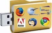 Cómo instalar un sistema operativo Linux en tu USB Flash Drive y convertirla en una Suite Portable de la aplicación