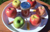 Gelatina de sidra de manzana caramelo