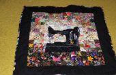 Máquina de coser tejido