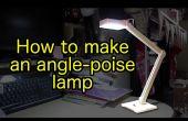 Cómo hacer madera, USB accionado, lámpara de LED de porte angular