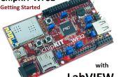 Para empezar con el ChipKIT WF32 (LabVIEW)