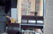 Cómo construir un fumador barril