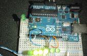 LED Fader Arduino al azar.