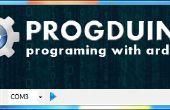 Reproducir sonido en pc con arduino y progduino