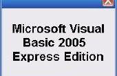 Crear su primer programa en Visual Basic