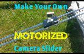 Resbalador de la cámara accionada lineal DIY