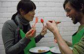 Mi día de San Valentín divertida pareja mesa (versión Beta).