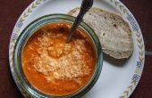 ¿Sopa de queso de oveja de tomate