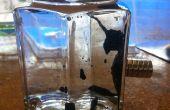 Hacer una exhibición de cristal de ferrofluido