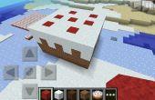 Torta gigante de Minecraft