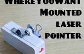 WhereYouWant montado en Laser puntero