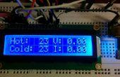 TEG / placa Peltier Test Rig con temperatura / voltaje / corriente registrador