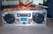 Homemade 18V batería estéreo