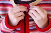 Hacer un Cardigan de Childs del suéter de las lanas de fieltro reciclado!