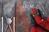 Disfraz de Deadpool - espadas de Deadpool y la vaina trasera