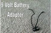 Cómo hacer un adaptador para batería de 9 voltios