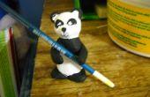 Palillos Panda de arcilla o spoonholder