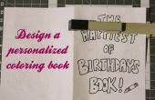 Diseño de un libro para colorear