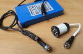 USB cargador de baterías de iones de litio de 12V