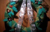 Guirnalda: Conversión de suéter de Navidad parte II