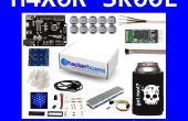 HackerBoxes 0005: LED píxeles, matriz 2D, 4 x 4 x 4 Cube y Bluetooth