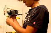 Montura de hombro cámara DIY con mango
