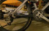 Protector de vaina de neumático de la bici