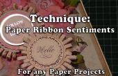Cómo hacer bonito papel cinta sentimientos