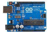Probador de la batería de Arduino Uno R3