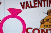 Anillos de San Valentín - corte láser gratis