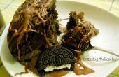 Enfriar el pastel de Chocolate menos huevo