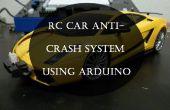 RC coche Anti-Crash sistema usando Arduino