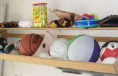 Cómo construir un estante de compartimiento de bola