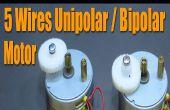 Paso a paso lo básico Motor - Motor de 5 cables Unipolar / Bipolar