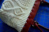 Conversión de un bolso en un bolso del suéter