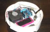 Otro cartón robot-aspirador controlado con Arduino