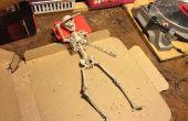 Articulación de un esqueleto de