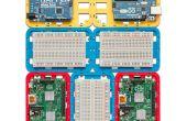 3D impreso soporte Modular (caso) para Arduino y frambuesa Pi - CustoBlocks