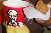 Cubo KFC mal de bondad