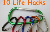 10 Hacks de la vida con mosquetones